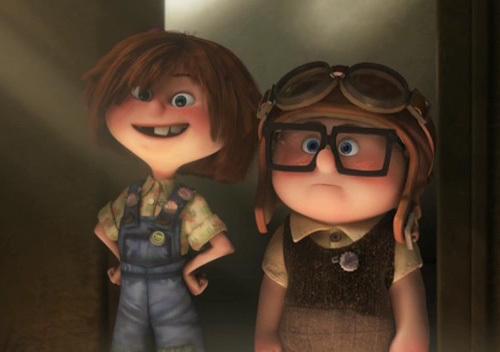 Ellie-and-Carl-as-Kids